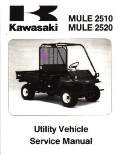 1993 2003 kawasaki kaf620 mule 2510 mule 2520 service repair manual rh repairmanual com Kawasaki Mule 2510 Specs Kawasaki Mule 2510 Parts