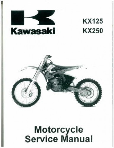1994 1998 kawasaki kx125 kx250 two stroke motorcycle service manual rh repairmanual com 2005 kawasaki kx 250 service manual pdf 2003 kawasaki kx 250 repair manual