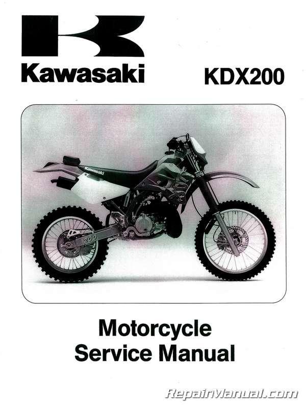 1995 2006 kdx200 kdx220 kawasaki motorcycle service manual rh repairmanual com Kawasaki KDX220 1997-2005 Kawasaki KDX250 2001 kawasaki kdx 220 service manual