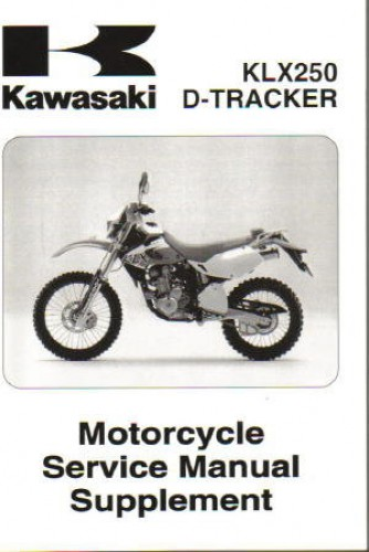 1999 2007 kawasaki klx250 service manual supplement rh repairmanual com kawasaki klx 250 owners manual kawasaki klr 250 owners manual
