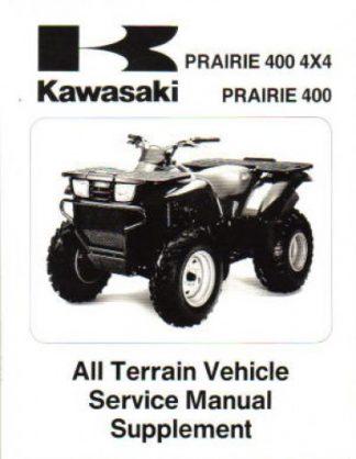 Kawasaki Prairie X Service Manual