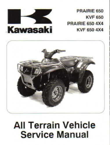 2002 2003 Kawasaki Prairie 650 Kvf 650 Prairie 650 44 Atv