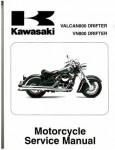 Official 2001-2006 Kawasaki VN800E Vulcan Factory Service Manual