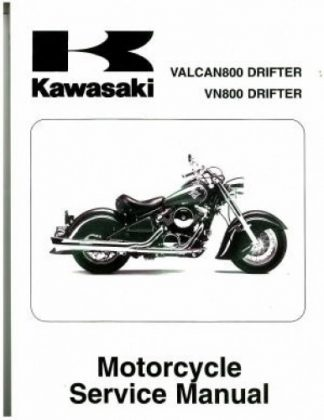 Official 2001-2006 Kawasaki VN800E Vulcan Factory Service Manual