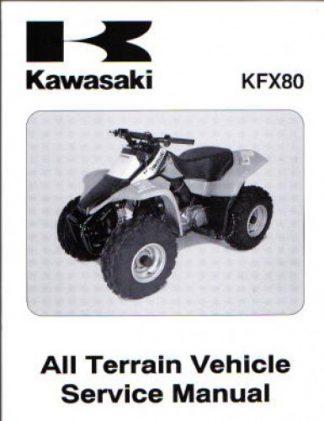 Official 2003-2006 Kawasaki KFX80 Factory Repair Manual
