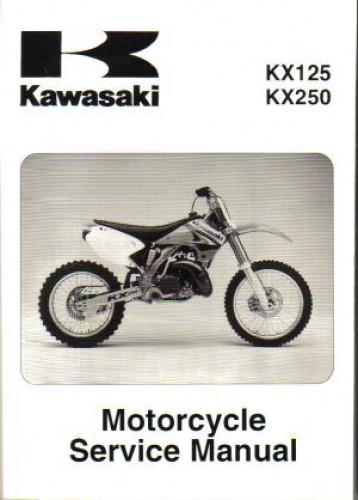 2003 2008 kawasaki kx125 2003 2004 kx250 motorcycle service manual rh repairmanual com 2003 kawasaki kx125 service manual pdf 2003 kx 125 repair manual