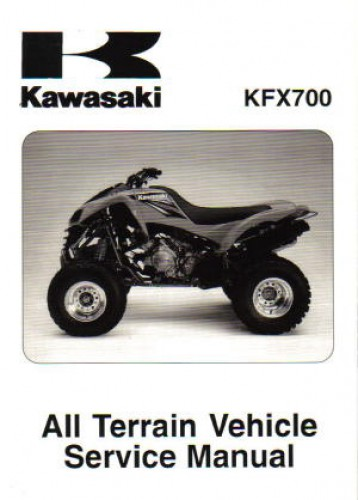Service Manual Kfx700 - User Guide Manual That Easy-to-read •