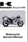 Official 2004 Kawasaki ZX600M1 ZX-6RR Ninja Factory Service Manual