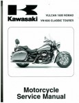 Official 2005-2008 Kawasaki VN1600D Vulcan Nomad Factory Service Manual