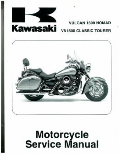 2005 2008 kawasaki vn1600d vulcan nomad service manual for Nomad service