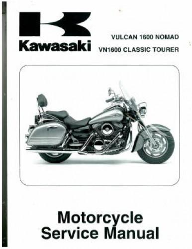 2005 2008 kawasaki vn1600d vulcan nomad service manual for Nomad service
