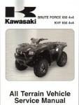 Official 2005-2006 Kawasaki KVF650 Brute Force 4x4 Factory Service Manual