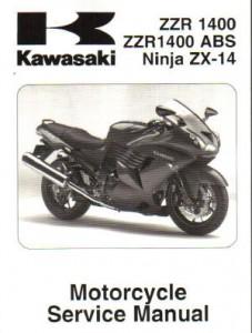 Kawasaki Zzr 400 service manual on