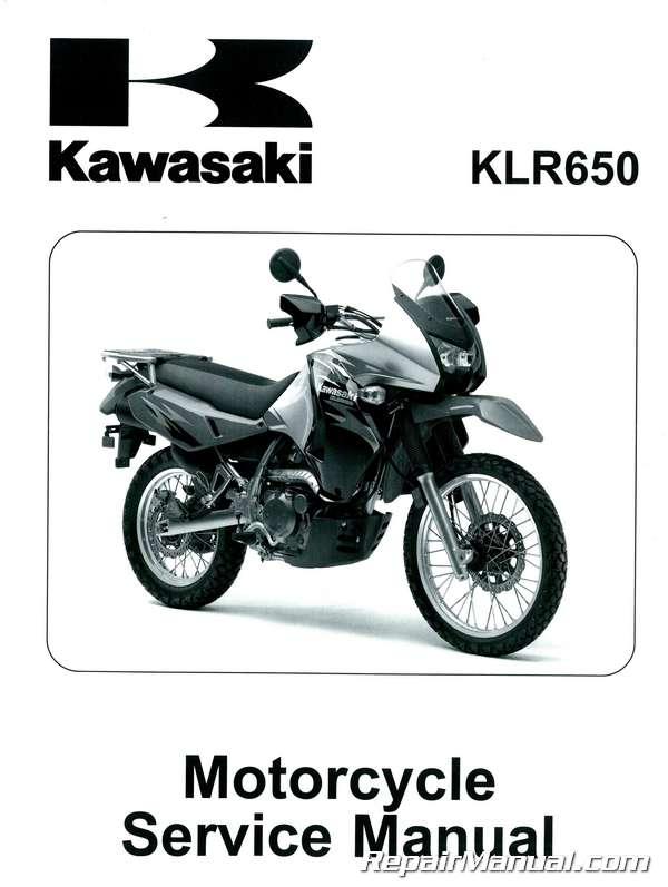2008 2016 kawasaki kl650e klr650 motorcycle service manual rh repairmanual com 2002 klr650 service manual klr 650 workshop manual