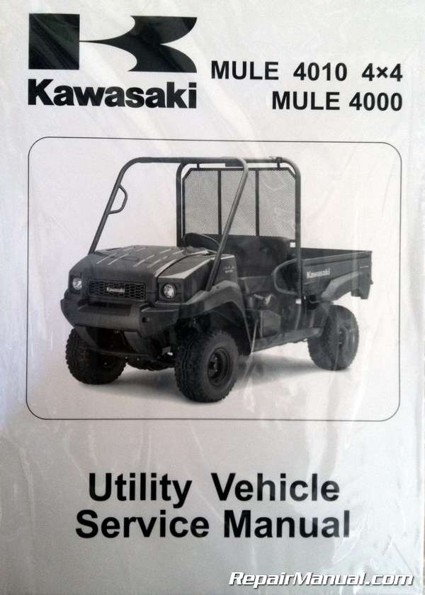 Kawasaki Mule 4000 Wiring Diagram - DIY Wiring Diagrams •