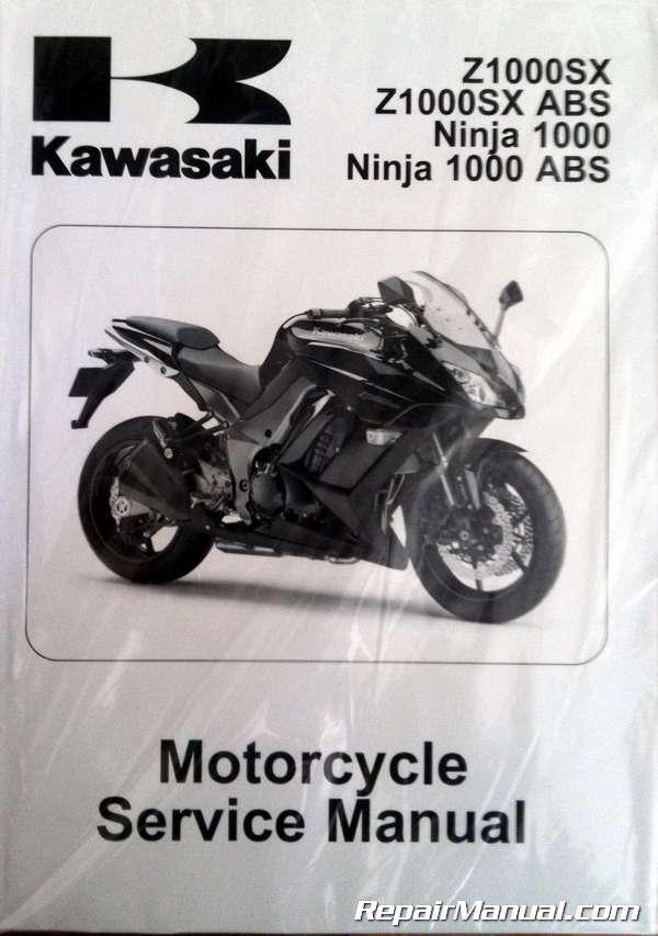 2011 2012 2013 Kawasaki Ninja 1000 Zx1000g Service Manual