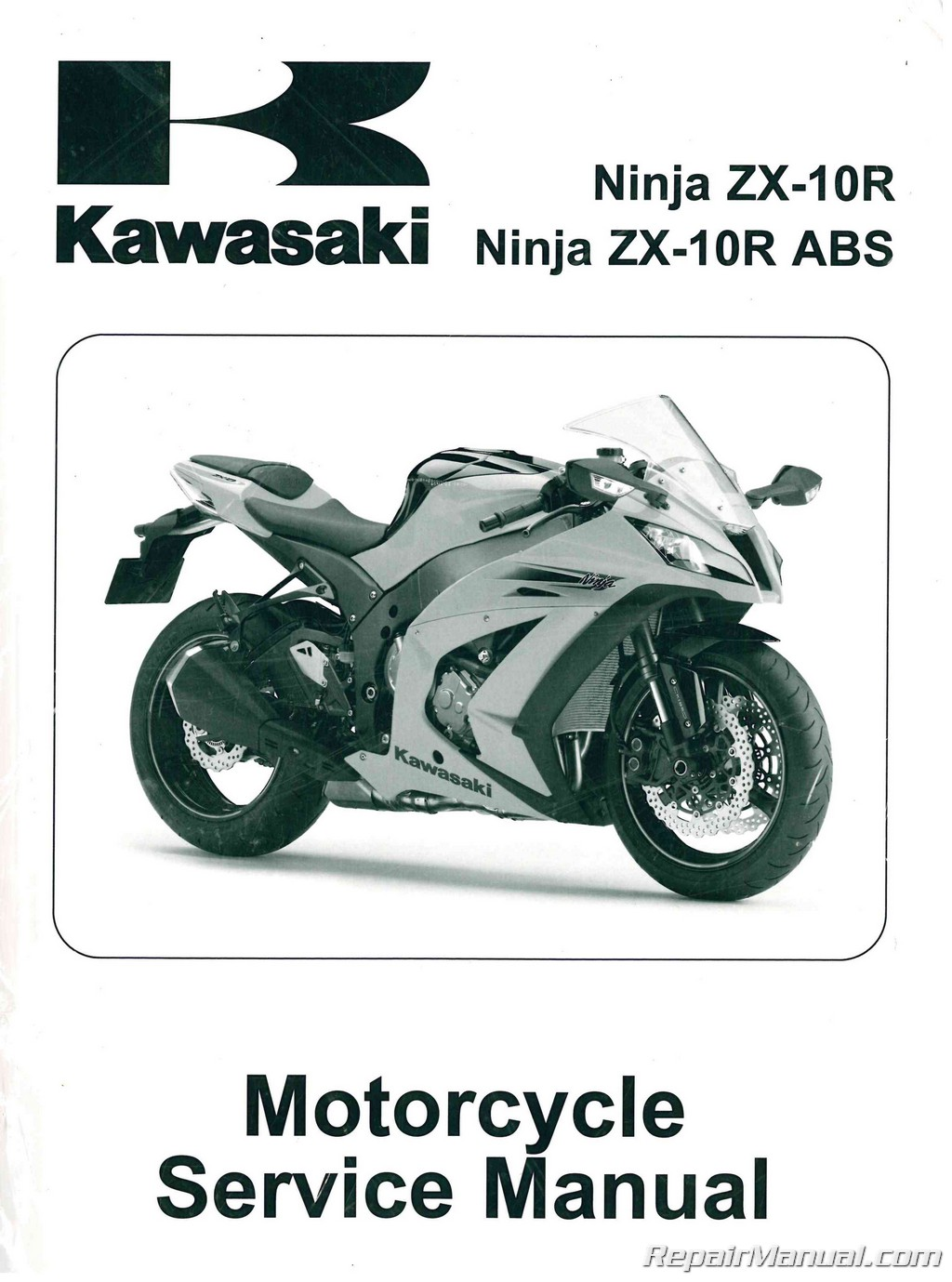kawasaki ninja zx 10r manual 2011 2014 rh repairmanual com 2009 zx10r user manual