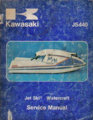 1977-1981 Kawasaki JS440 A-1-A5 Jet Ski JS440 Factory Service Manual