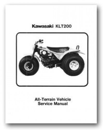 1981 kawasaki klt200 service manual. Black Bedroom Furniture Sets. Home Design Ideas