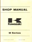 Used Kawasaki M Series Factory Service Manual