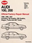 Official 1989-1991 Audi 100 200 Factory Repair Manual