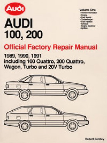 1989 1990 1991 audi 100 200 repair manual rh repairmanual com 1970 Audi 100 1991 Audi 100 Quattro