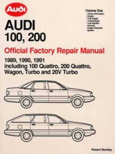 wiring 1990 audi 100 1990 audi 90 quattro wiring diagrams 1989 1990 1991 audi 100 200 repair manual #9