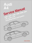 1996-2001 Audi A4 Avant and Quattro Service Manual