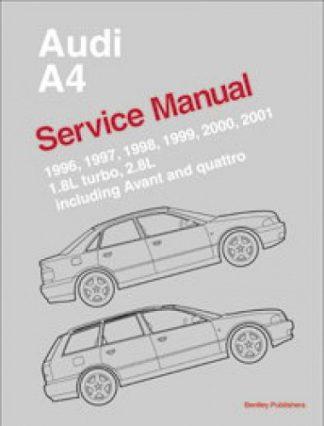 1996-2001 Audi A4 Avant and Quattro Service Manual