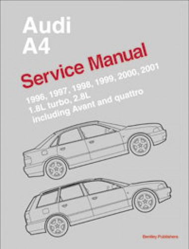 1996 2001 audi a4 avant and quattro service manual rh repairmanual com 2001 Audi A8 1998 Audi A4 Fuse Diagram