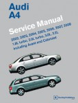2002-2008 Audi A4 Avant and Quattro Service Manual