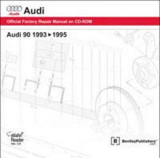 Audi 90 1993-1995 Official Factory Repair Manual on CD-ROM