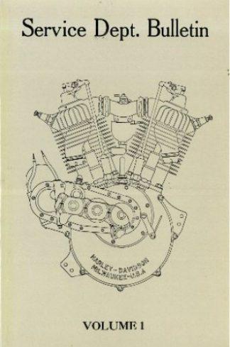 1912-1929 Harley-Davidson Service Bulletins Manual - Volume 1