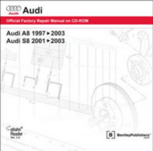 Audi A8 1997 2003 S8 2001 2003 Repair Manual On DVD