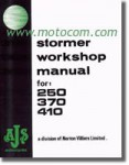 AJS Stormer 250 370 410cc Motorcycle Workshop Manual