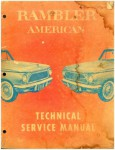 1961 Rambler American Technical Service Manual Used