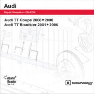 Audi TT Coupe 2000-2006 Audi TT Roadster 2001-2006 CD-ROM