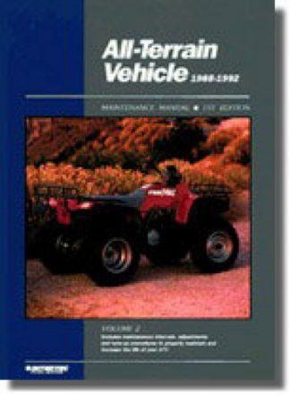 ATV Service Manual Volume 2 1988-1992