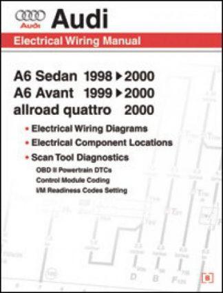 1998-2000 Audi A6 Sedan and Avant Electrical Wiring Manual