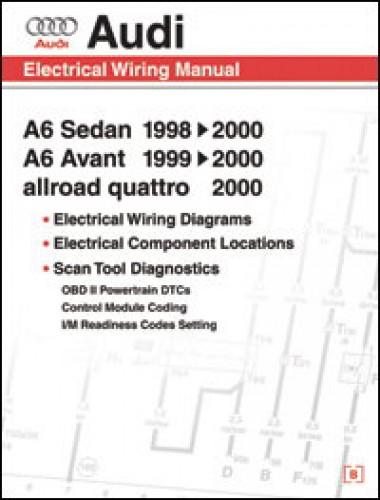 audi a6 electrical wiring component location and diagnostic trouble rh repairmanual com Audi A6 Manual Transmission Synchronizer Audi A6 Manual PDF