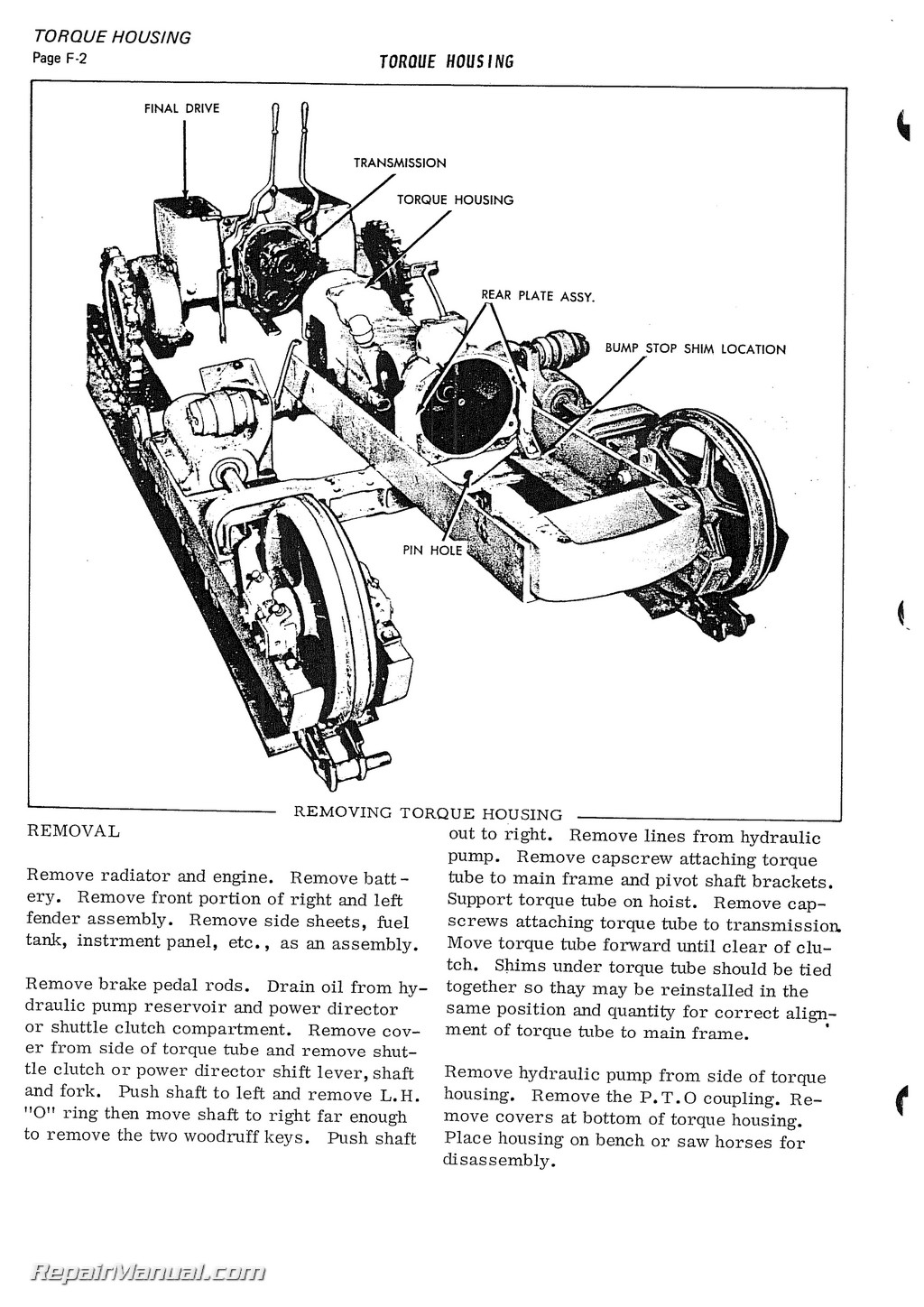 185 allis chalmers injector pump diagram allis chalmers h3 hd3 tractor service manual