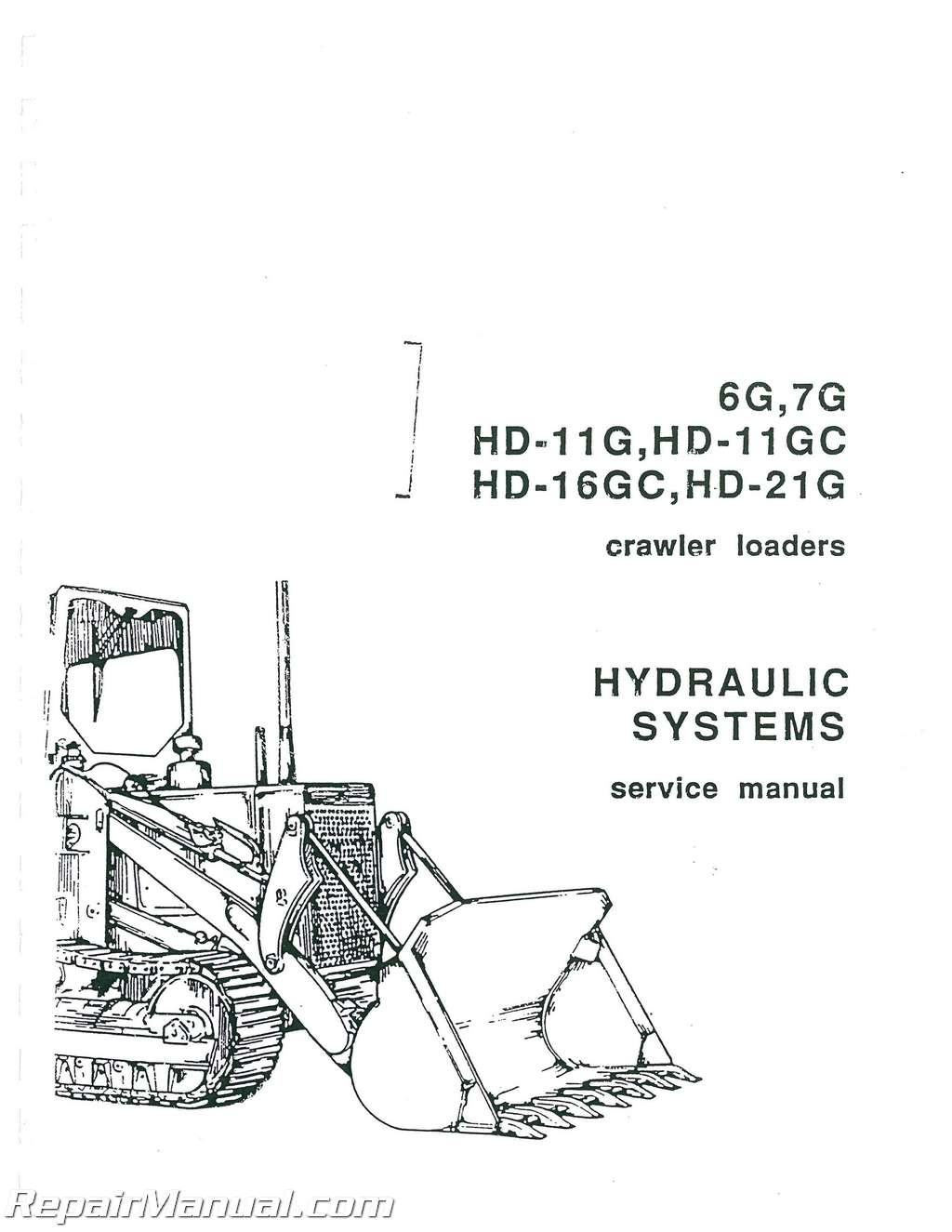 allis chalmers hd 7g diesel crawler loader service manual rh repairmanual com Mahindra Tractor Accessories Mahindra 2615 Tractor