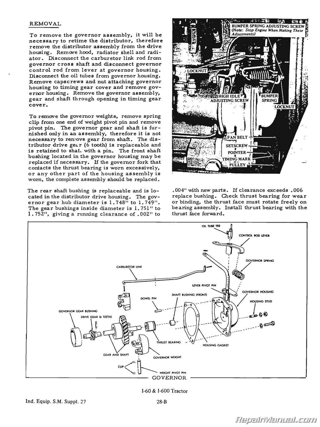 Allis Chalmers B Wiring Diagram from www.repairmanual.com