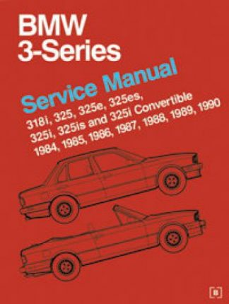 BMW 3 Series 318 325 E30 Service Manual 1984-1990