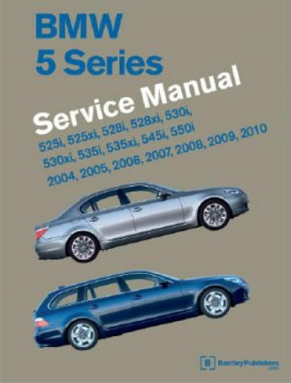 BMW 5 Series E60 E61 Service Manual 2004-2010