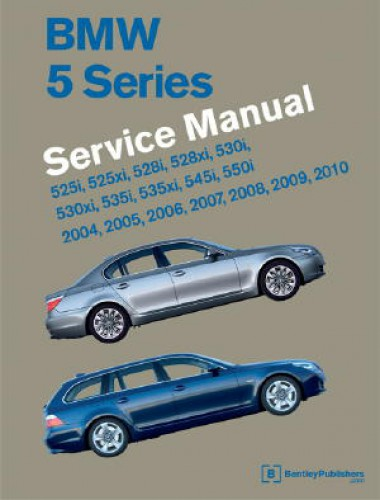 bmw 5 series e60 e61 printed service manual 2004 2010 two volume set rh repairmanual com bmw x5 owners manual 2012 bmw x5 owners manual pdf
