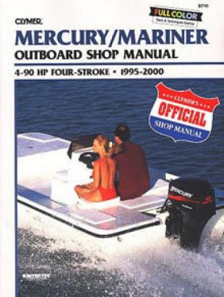 1995-2000 Mercury-Mariner 4-90hp Outboard Repair Manual by Clymer