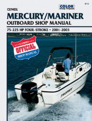 2001-2003 Mercury 4-Stroke Outboard 75-225hp Repair Manual