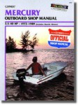 Used Clymer Mercury 3.5-40hp 1972-1984 Outboard Repair Manual