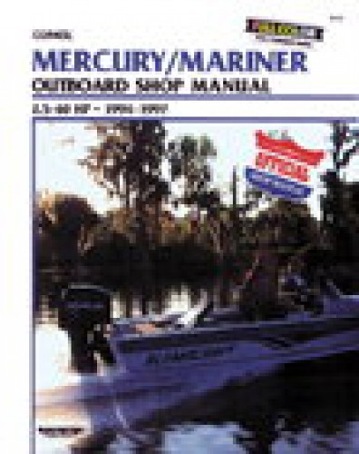 Used 1994-1997 Mercury-Mariner 25-60 hp Outboard Boat Engine Repair Manual